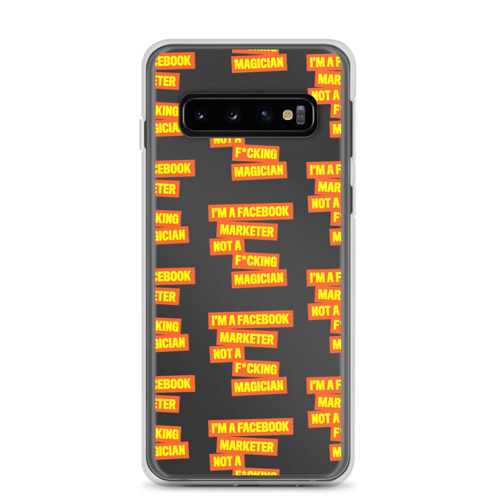 FB Marketer Samsung Case Orange