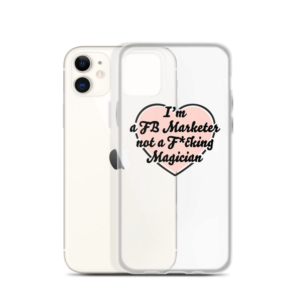 I HEART YOU FB MARKETER iPhone Case