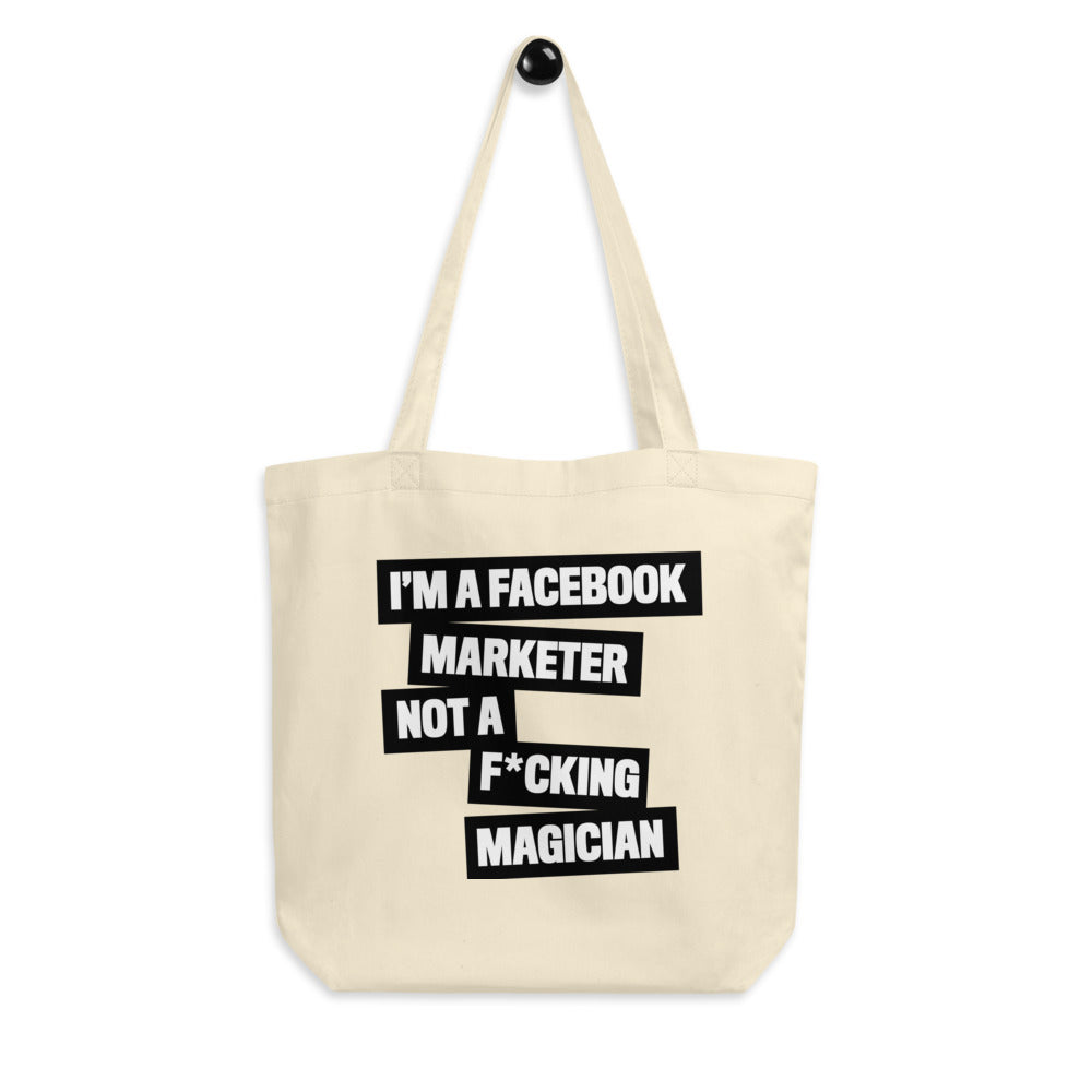 FB MARKETER Eco Tote Bag Black
