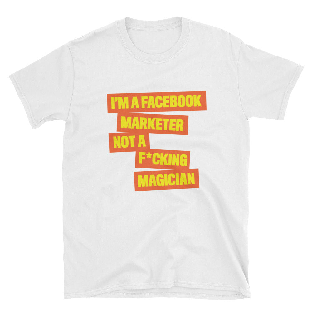 FB MARKETER Heavy Cotton Unisex T-Shirt Orange