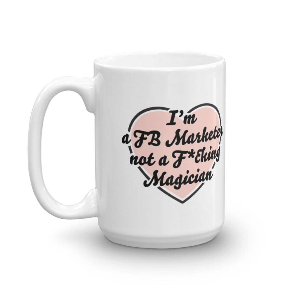 I HEART YOU FB MARKETER Mug