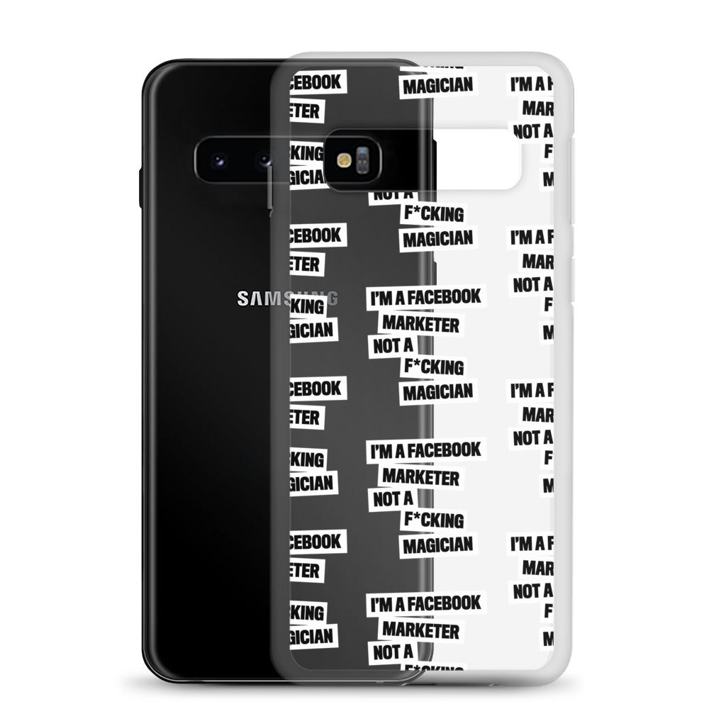 FB Marketer Samsung Case White
