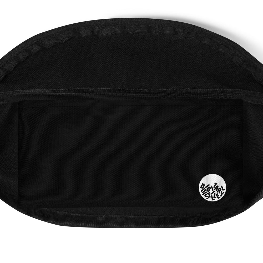 EAT SLEEP OPTIMIZE REPEAT - DISTILLED Fanny Pack Black