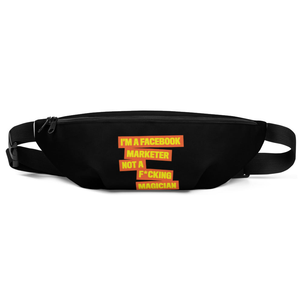 FB MARKETER Fanny Pack Black