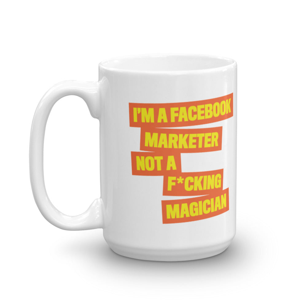 FB MARKETER Mug Orange
