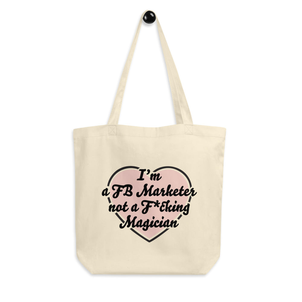 I HEART YOU FB MARKETER Eco Tote Bag