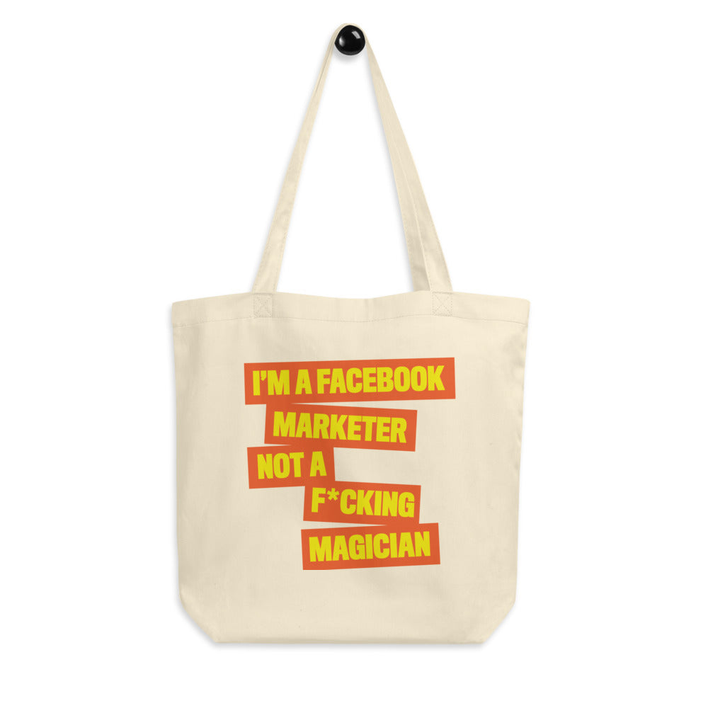 FB MARKETER Eco Tote Bag Orange