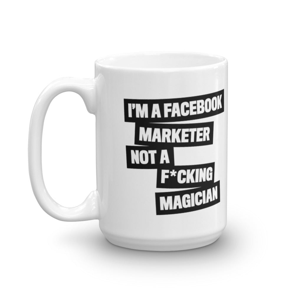 FB MARKETER Mug Black