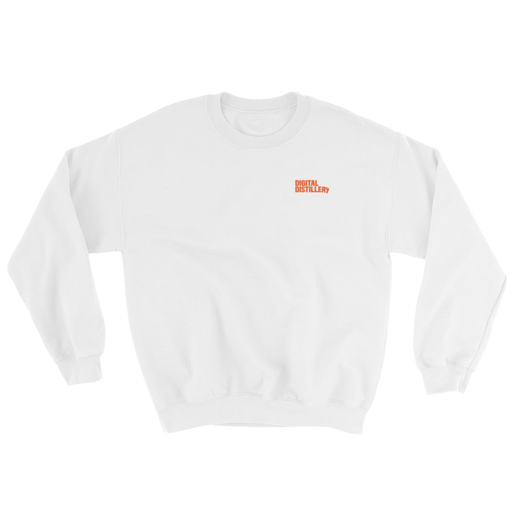 FB MARKTER Crewneck Sweatshirt Orange