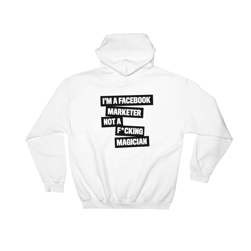 FB MARKETER Hooded Sweatshirt