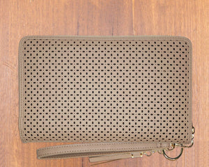 Large Purse: Taupe (Gold features) Lilly C  lilly-c.myshopify.com