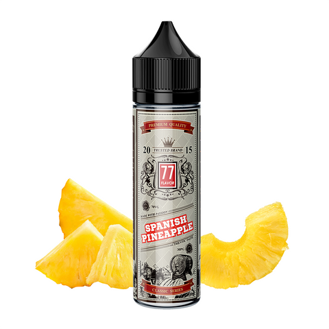 Image of Classic 77 Flavor Spanish Pineapple E-Juice - Flava Hub