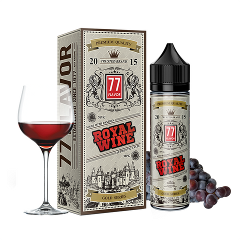 Image of Gold Series 77 Flavor Royal Wine E-Juice - Flava Hub