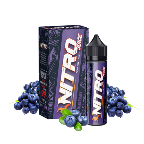 Nitro Juice Raging Booster E-Juice - Flava Hub