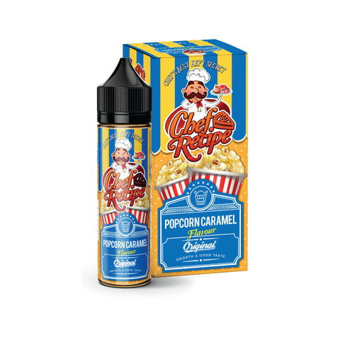 CHEF RECIPE POPCORN CARAMEL FLAVOUR (50ML) E-Juice - Flava Hub
