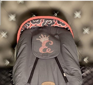 Custom Crowned Carseat Covers