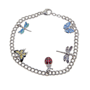 Insects Charm Bracelet