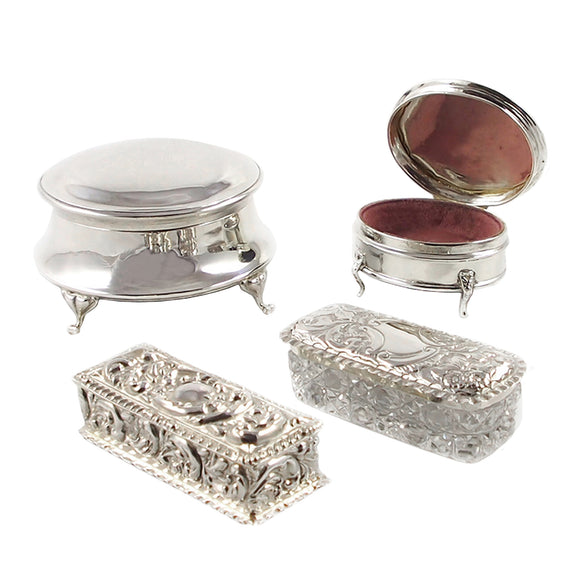 Jewellery Boxes & Trinket Boxes