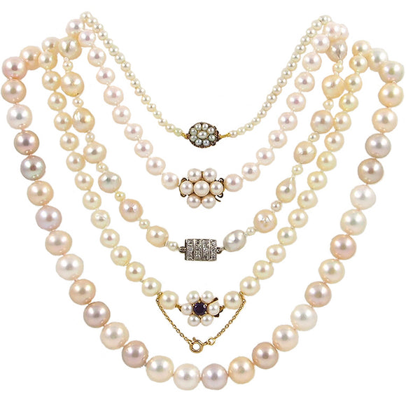 Pearl Necklaces Collection