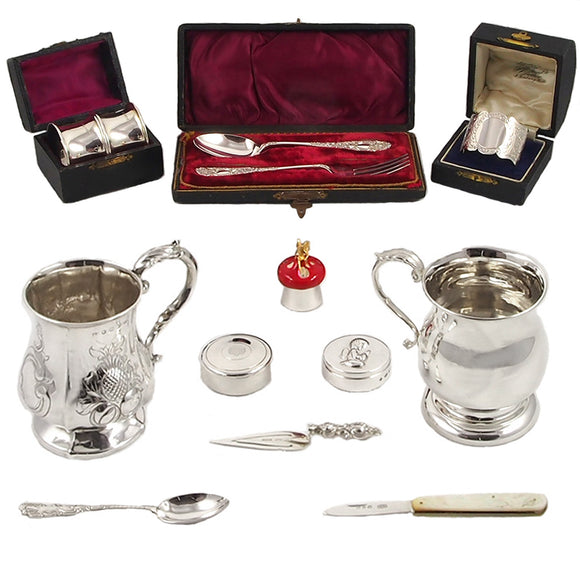 Silverware Christening Gifts Collection