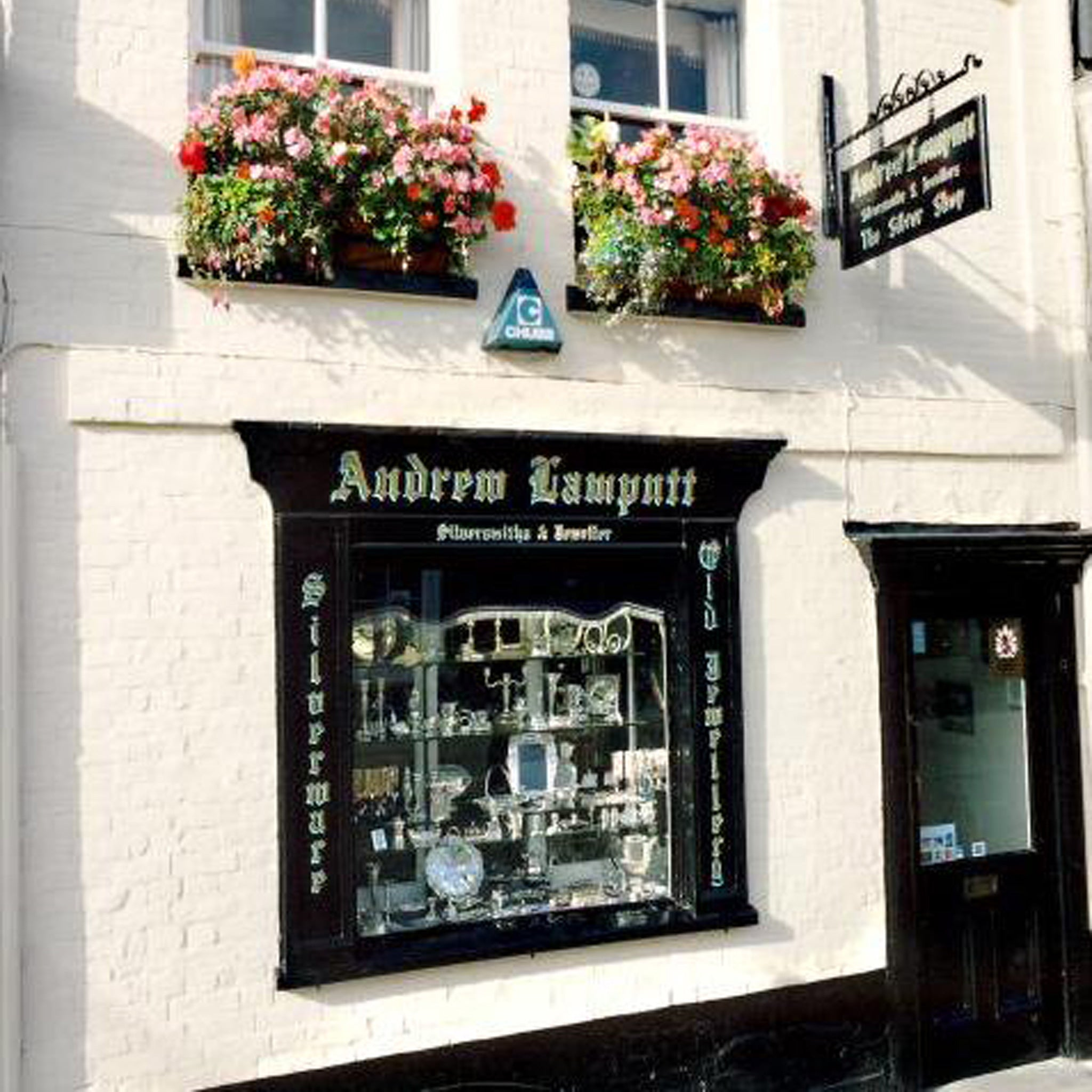 Andrew Lamputt Silvermsith & Jeweller Shop Front