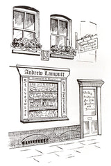 Andrew Lamputt Silversmith & Jeweller shop front