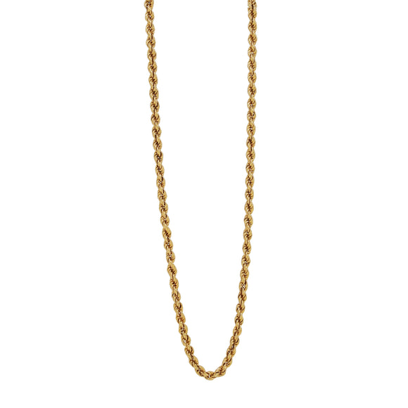 A modern, 18ct yellow gold, Prince of Wales chain