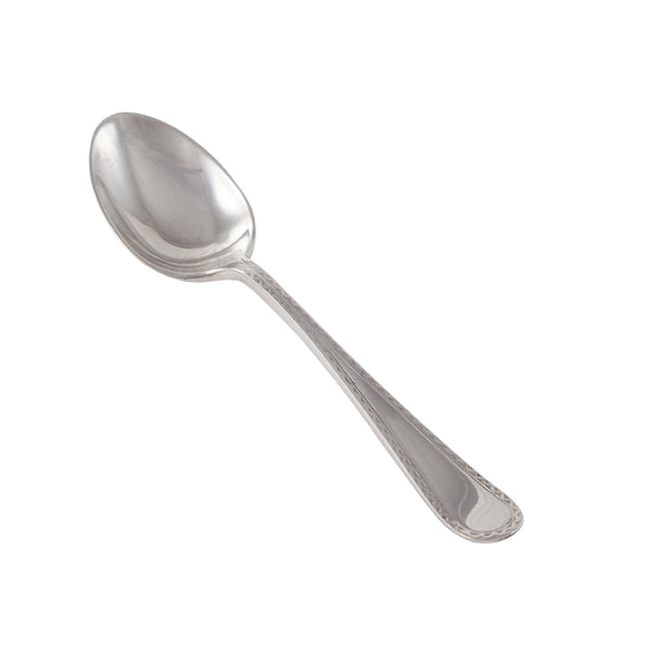 A single, early 20th century, silver coffee spoon