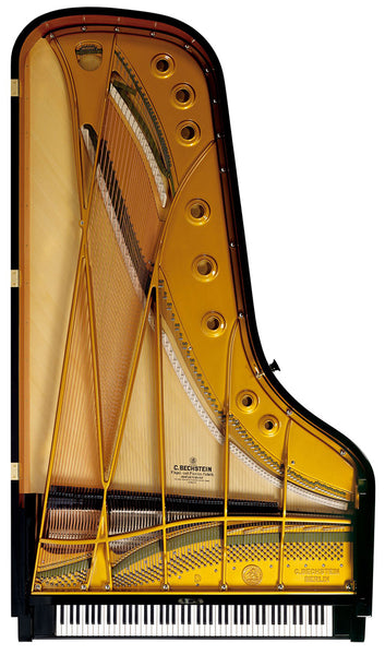 The Structure of the Piano: Design of the Strings Enriches the Sound