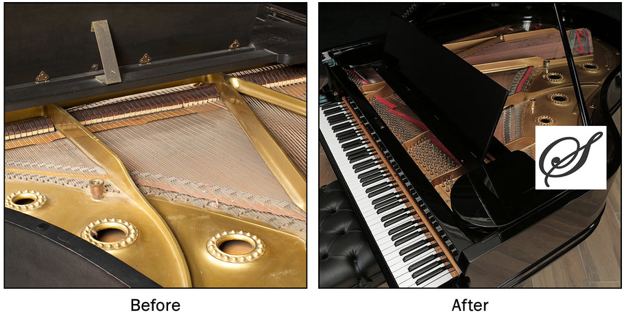 Piano restoration is the art of transforming an older piano