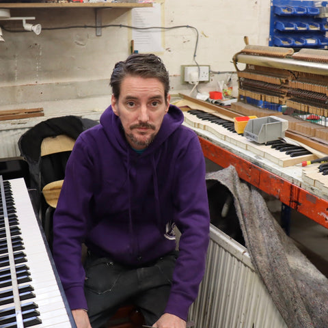 Martin Houghton - Piano Technician