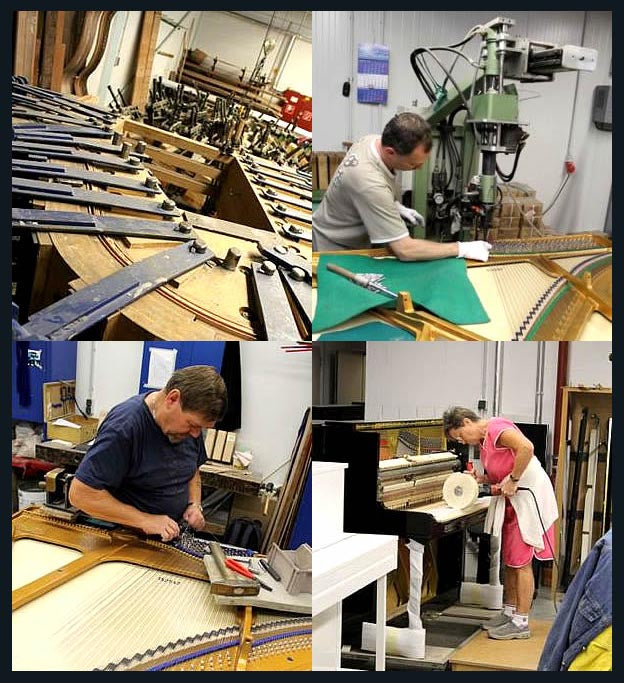 Irmler Piano Manufacturing Process