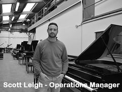 Scott Leigh, Shackleford Pianos Operation Manager