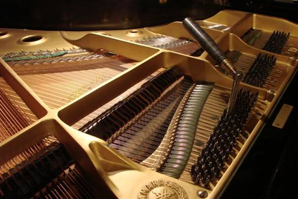 Tuning Hammer In Grand Piano