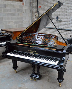 Bechstein V Ebonised Finish Restored