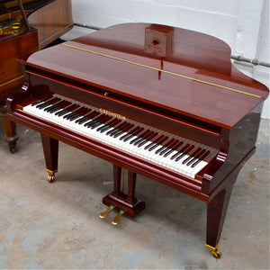 Bechstein Model S baby Grand Piano mahogany french polished