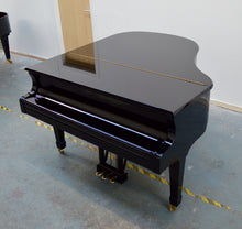 Load image into Gallery viewer, Blüthner 10 Black Baby Grand Piano Used