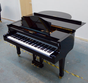 Blüthner 10 Black Second Hand Baby Grand Piano