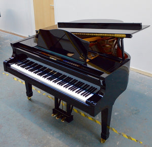 Blüthner 10 Black Baby Grand Piano