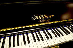 Blüthner Model B Used Upright Piano Keyboard