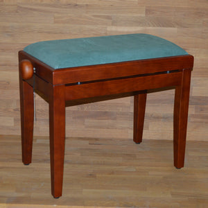 Cherry matt green velvet stool