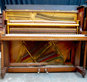 Maxime Freres of London Upright Piano Internal Design
