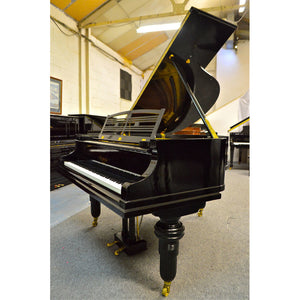 Feurich Used Black Grand Piano
