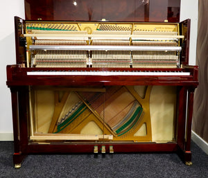 Niendorf 123 Upright in oyster mahogany