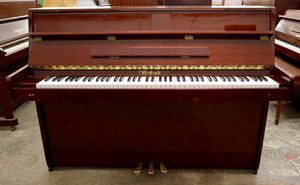 Offenbach DU - 4 Upright piano in polished mahogany