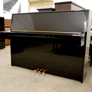Kawai K-15E Upright Piano in black high gloss