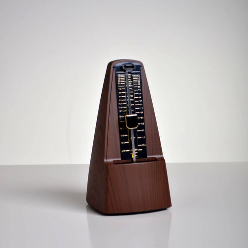 Mahogany Wood Effect Metronome