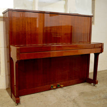 Load image into Gallery viewer, Neumann European Made upright piano in mahogany