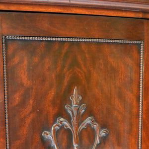 Regency Music Cabinet Door Detail