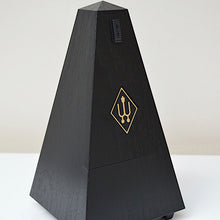 Load image into Gallery viewer, Wittner Black Woodgrain Metronome Close
